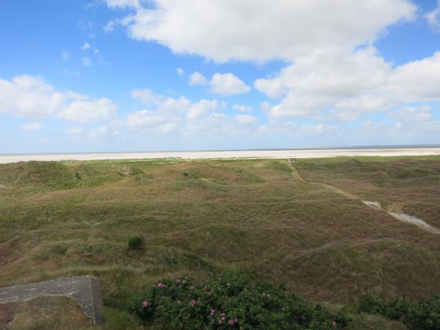 Blick auf Søren Jessens Sand