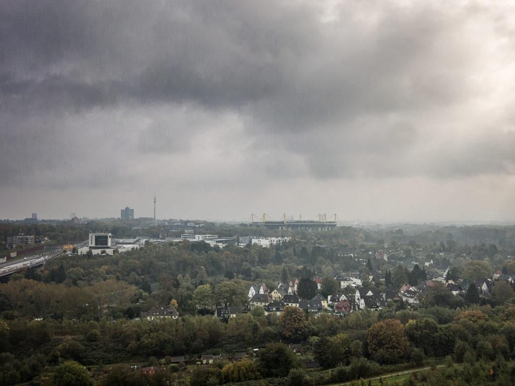 Dortmund im Regen