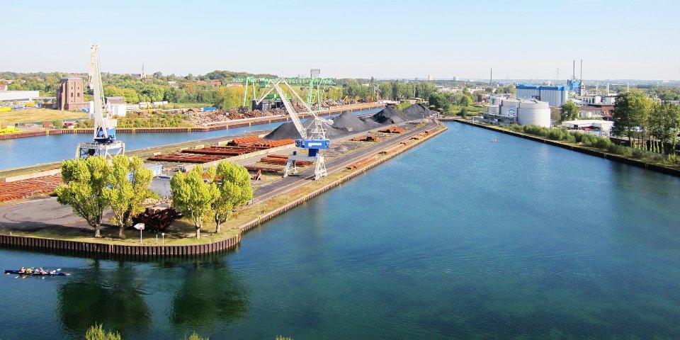 Hafen Hardenberg am Dortmund-Ems-Kanal