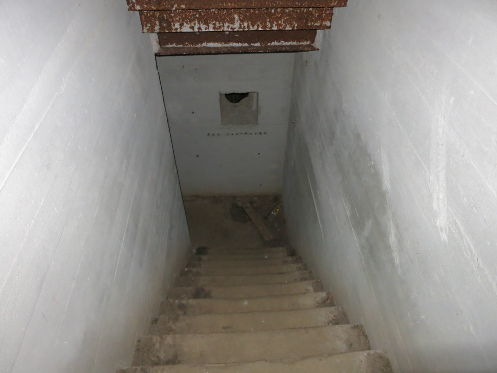 Bunkerzugang