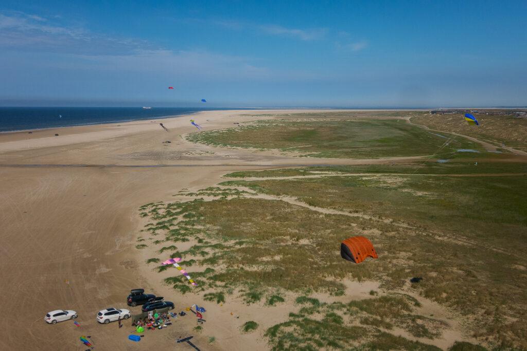 Fanø-Strand von oben